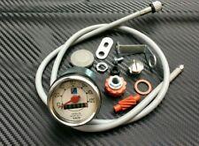 Vespa V50 50 S L N R TUNING Tacho Logo blau + Nachrüst Set 120 km/h Speedo NEU