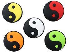 Ensemble de cinq (5) pro des pros Tai Chi tennis vibration dampener ying yang style