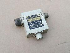 E&M Laboratories RF Circulator / Isolator, S31T12 197, 2.3-2.7 GHz, Microwave
