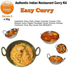 Easy Curry Kit - Make an Indian Restaurant Style curry easily from Mild to Hot