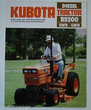 KUBOTA DIESEL TRACTOR B5200  2WD/ 4WD DEALERSHIP BROCHURE
