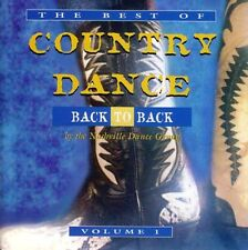 THE BEST OF COUNTRY DANCE - BACK TO BACK VOL.1(NEW CD) NASHVILLE DANCE GROUP