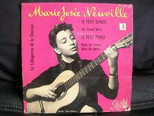 VINYL 45 T CHANSON FRANCAISE – MARIE JOSEE NEUVILLE : LE PETIT DANOIS + 3