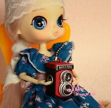 1/6 Barbie Blythe Doll Dollhouse Miniature Vintage Red Camera
