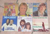 6 x 45 TOURS ANNÉES 1975 & 1976 : SHELLER, SAILLY, SHUKY & AVIVA, ROMINA POWER
