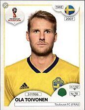 342 OLA TOIVONEN # SWEDEN TOULOUSE.FC TFC CARD ADRENALYN LIGUE 1 2018 PANINI