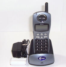 at&t 2402 2.4 ghz 2 line cordless phone expansion handset for 2462