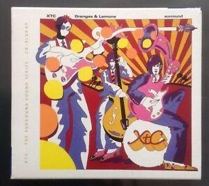RARE - XTC - ORANGES AND LEMONS - SURROUND SOUND SERIES CD+BLURAY - FREE UK POST