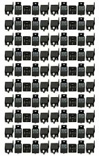 100 PACK 30/40 AMP 12V BOSCH STYLE SPDT RELAY + FREE SAME DAY PRIORITY SHIPPING