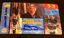 ANDY DELMORE 1995 Signature Rookies Hockey AUTOGRAPH Pack Pull ON Card AUTO SP