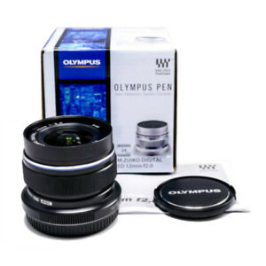 OLYMPUS Single Focus Lens M.ZUIKO DIGITAL ED 12mm F2.0 Black f2.0 BLK