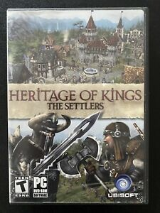 Heritage of Kings: The Settlers PC DVD ROM Ubisoft Medieval Strategy Game