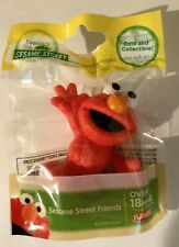 Sesame Street Friends Elmo Plastic Figure Toy Cake Topper 2.5 In. Tall