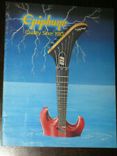 Epiphone Gibson Guitar 1989 Catalog Les Paul Chet Atkins Howard Roberts Models