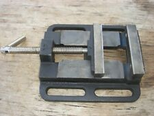 4 Inch Machinist Bench Vise For Drill Press Or Milling Nice Shape Free Shipping