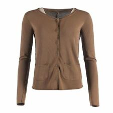 Button Polyester Regular Long Jumpers & Cardigans for Women