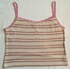Next Women's Striped Vest Top, Strappy, Cami Tops & Shirts