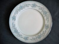 -MINT- Mikasa China Dresden Rose Pale Blue Dinner Plate L9009 >FOR ANIMAL RESCUE