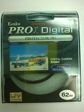 Genuine Kenko PRO1 Digital 62mm Protector Filter
