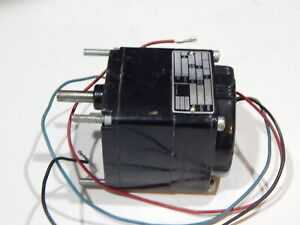 BODINE MODEL 0723VE  KCI-22T4 115VAC GEAR MOTOR 180:1 RATIO  1/700 HP 1 PH