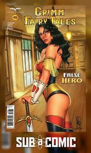GRIMM FAIRY TALES #49 COVER C DIPASCALE (ZENESCOPE 2021 1st Print) COMIC