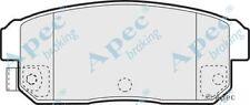 1x OE Quality Replacement Apec Rear Axle Brake Pad Set