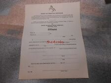 Vintage Colt Mfg Co Pistol Excise Tax Exemption Certificate