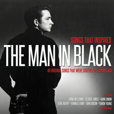 JOHNNY CASH - Songs That Inspired THE MAN IN BLACK (Various Artists) 2CD