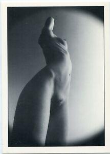 Erotik-AK Mädel schlank ganz nackt naked schöner kleiner Busen 70er Photokunst
