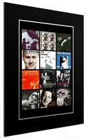 MOUNTED / FRAMED PRINT THE SMITHS 12 DISCOGRAPHY 3 SIZES POSTER GIFT ARTWORK