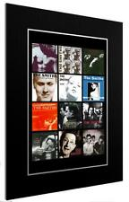 More details for mounted / framed print the smiths 12 discography 3 sizes poster gift artwork