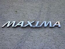 OEM Factory Genuine Stock Nissan Maxima trunk emblem badge decal logo script
