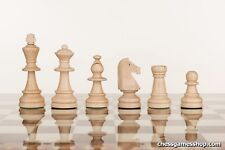 Tournament Staunton Standard size wooden chess pieces - SPECIAL DISCOUNT PRICE