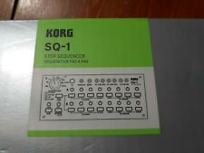 Korg SQ-1 2-Channel Vintage Analog Synth MS-20 USB Powered 8 Step Sequencer NEW!