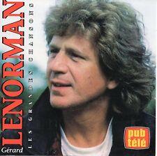 Gérard LENORMANLes grandes chansonsCDSelect 1994Canada ++ RARE ++