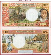 (com) FRENCH PACIFIC TERRITORIES - 1000 FRANCS 1992/ 2013 - P 2j scarce - AUNC++