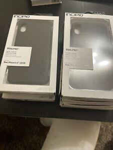 "Lot Of Wholesale 7 Incipio DualPro Case for iPhone Xs Max 6.5"""