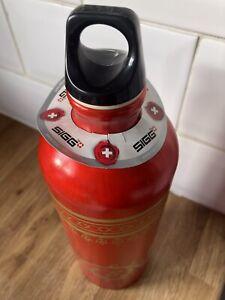 "Sigg Water Bottle ""Maha Ruby"" New 1 Ltr"