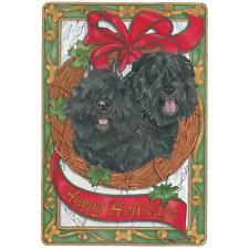Pipsqueak Productions C502 Holiday Boxed Cards- Bouvier Des Flandres