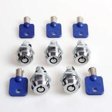 5x Arcade Machine Parts Short Cash Door Tool Box Tubular Locks Kits Parts Jamma