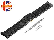 For EMPORIO ARMANI AR1413 Ceramic Black Full Strap/Band/Bracelet Watch 22mm Mens