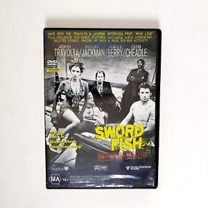 Sword Fish Movie DVD Region 4 AUS Free Postage - Crime Action John Travolta