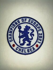 CHELSEA - CHAMPIONS  OF EUROPE 2021 -  PATCH Iron on/sew on patch