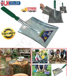 """12"""" Outdoor Indoor Garden Multipurpose Use Metal Wood Hand Shovel Dust Pan Coal"""