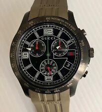 8930bc601ce Gucci Chronograph Mens Watch YA126207 NWT Warranty G Timeless wrist watch