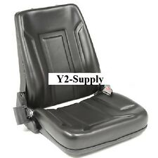 New! Deluxe Forklift Seat Vinyl with Seat Belt!