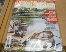 August Country Living Home Magazines in English