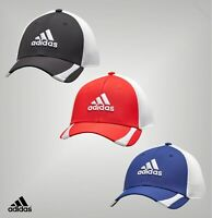 Mens Adidas Casual Embroidered Logo Curved Brim Golf Cap Sizes from S to XL