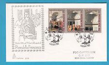 FDC BUSTA PRIMO GIORNO CAPITOLIUM 1992 SAN MARINO PIERO DELLA FRANCESCA NATALE