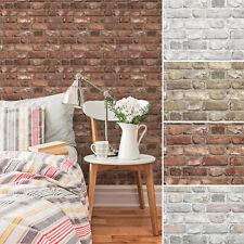 Vlies Tapete Bruchstein Mauer Ziegelstein Klinker Industrial Look Loft brick